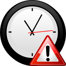 clock warning